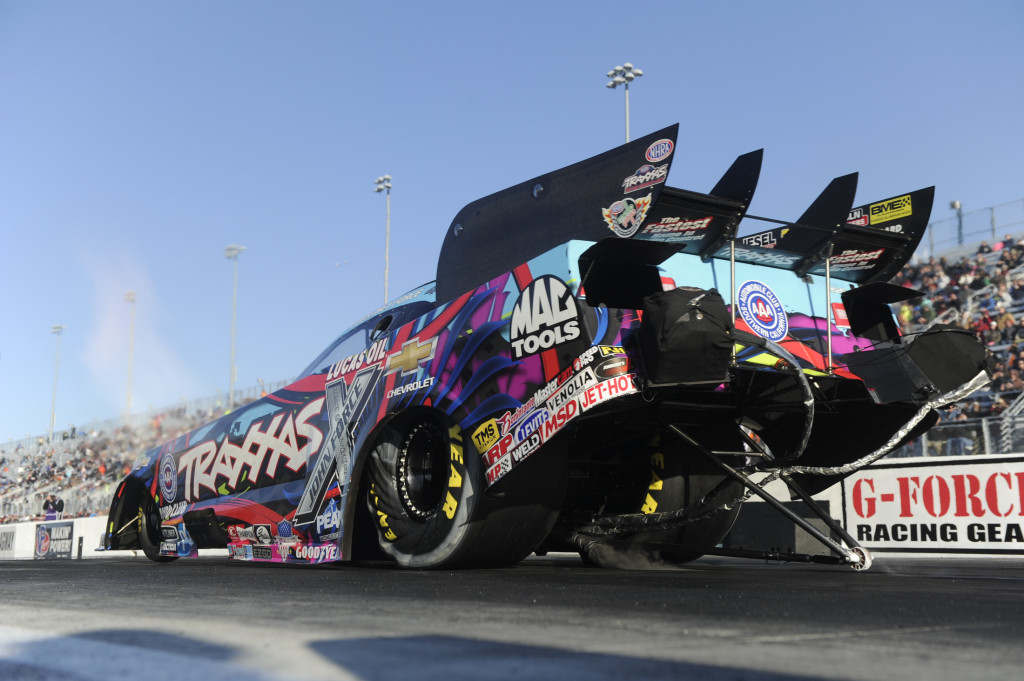 Courtney Force needs to win the next two races to get her way into the Countdown.