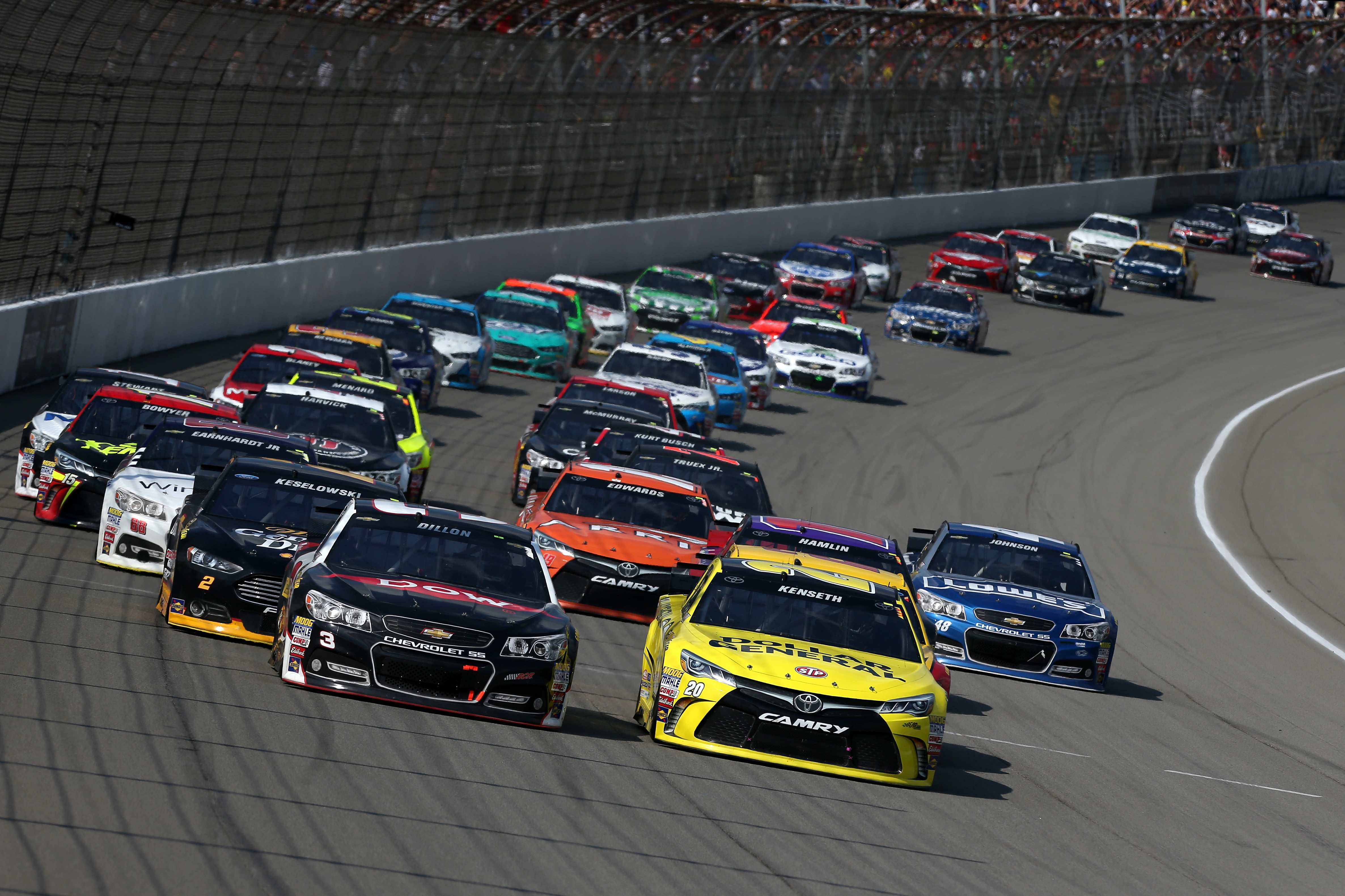 Nascar Wrap Up Michigan 400 Careers For Veterans And
