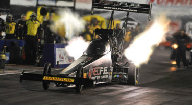 Khalid alBalooshi Takes Over DSR Top Fuel Dragster after Massey's Removal