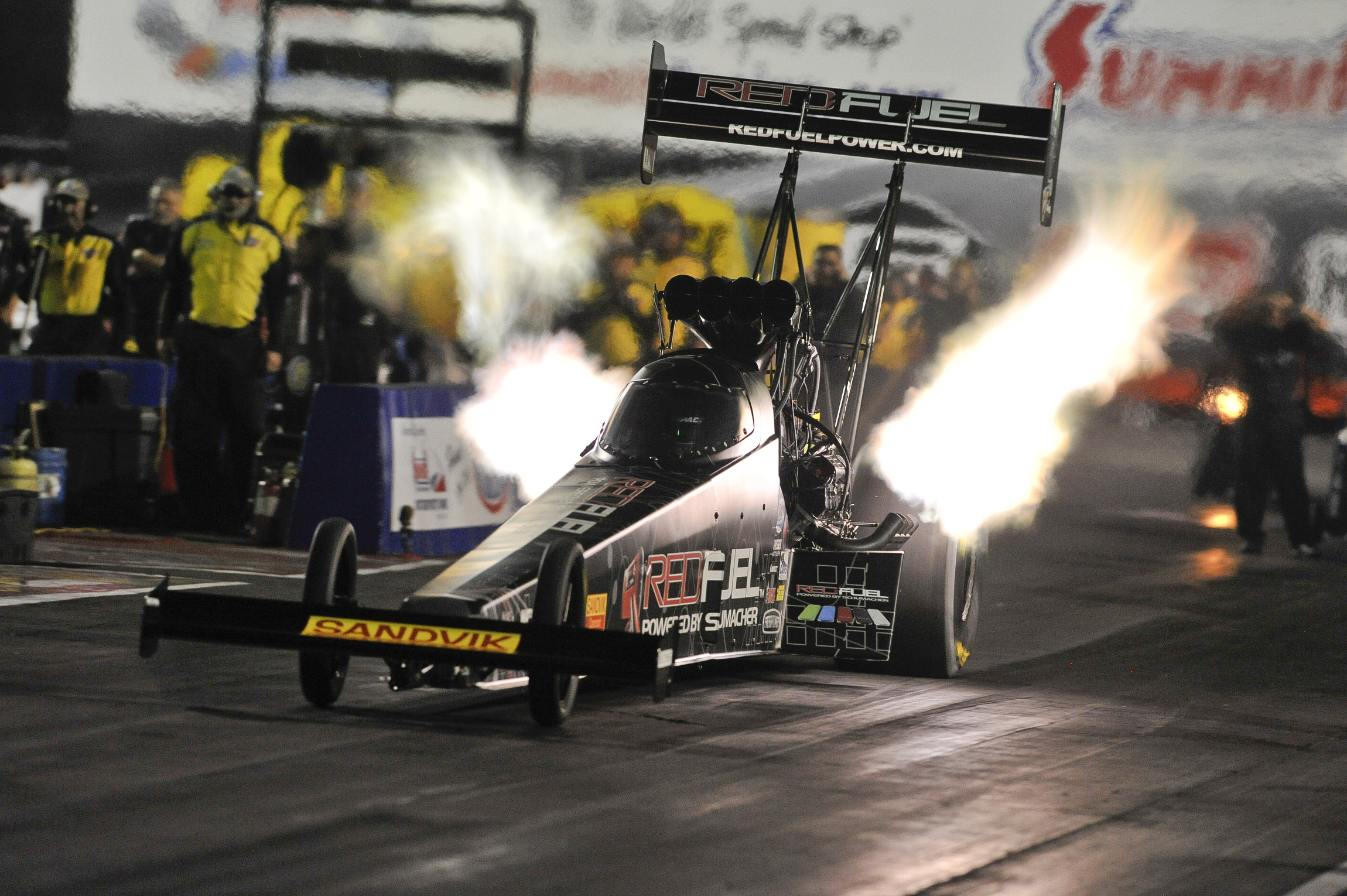 Khalid alBalooshi Takes Over DSR Top Fuel Dragster after Massey s