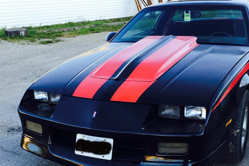 """Allow me to introduce you to Dan Allen's 1984 Camaro IROC/Z28 Resto-Mod build. Dan says it's almost done, just a few minor things to finish up on. Will it win """"Best of Show"""" anywhere? Probably not, but Dan's more than happy with it and that's the only thing that matters."""