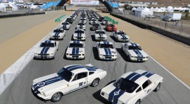 Rolex Monterey Motorsports Reunion Celebrates the Shelby GT350