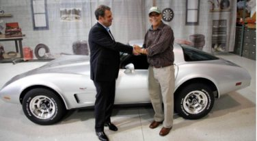 Man Gets Reunited with his Corvette after 33 Years