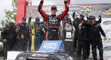 Jones Charges to NASCAR Truck Win in Canada
