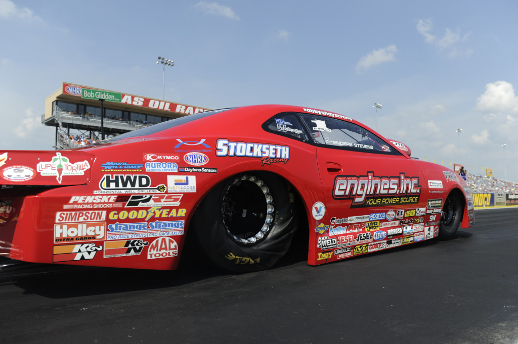 Erica Enders in action