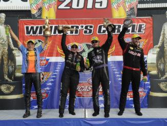NHRA Winners Circle