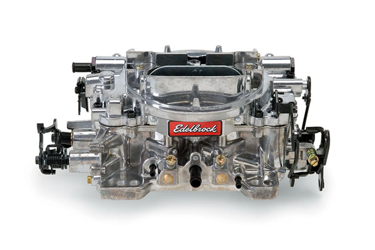 Edelbrock Carb Parts Diagram Exploded View Wire Diagrams Pro Carburetor Float Level For Mikuni Tm33 Installing A New And Intake In Your Hot Rod Racingjunk News 1405 Problems
