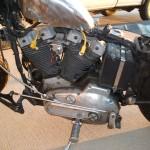'76 Harley Davidson Rat Bike Turns Heads