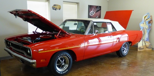 1970 Plymouth Roadrunner Convertible