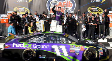 Hamlin Delivers in Chicagoland With First Win in the Sprint Cup Chase