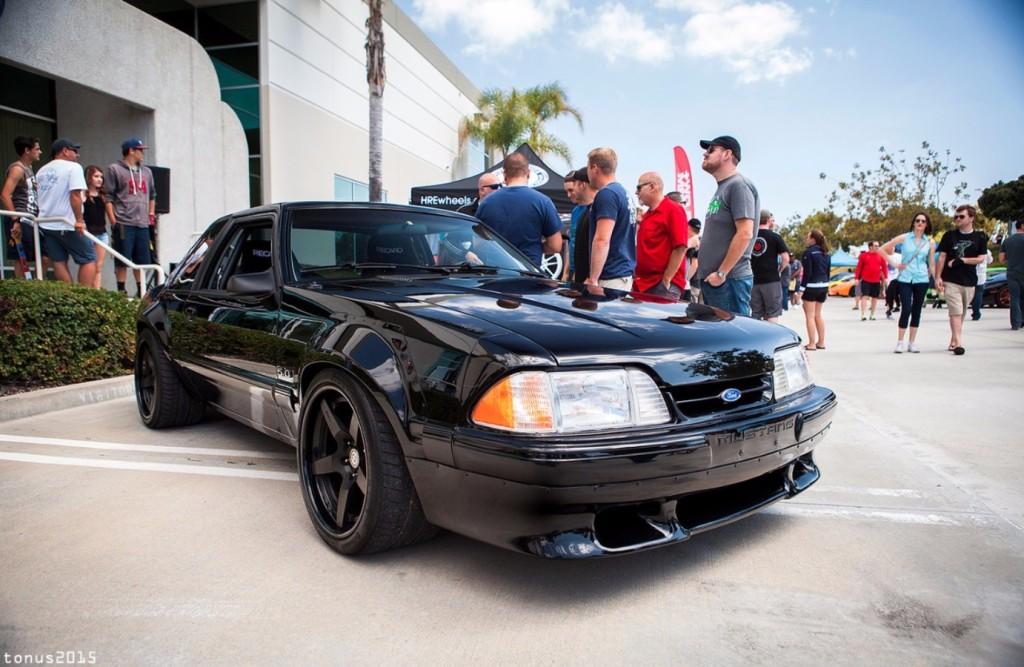 Matt Farah Mustang, Fox Body Mustang, Matt Farah, Wide Body Mustang, 5.0 Mustang