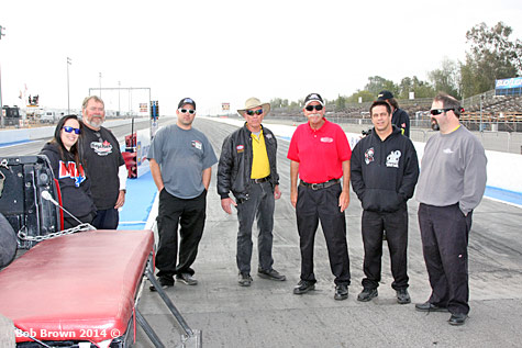 NHRA Safety Officials