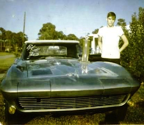 Posey with his '63 Corvette
