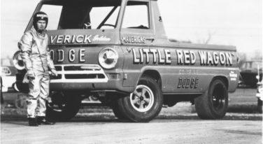 Maverick's Little Red Wagon