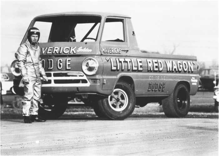 Maverick's Little Red Wagon