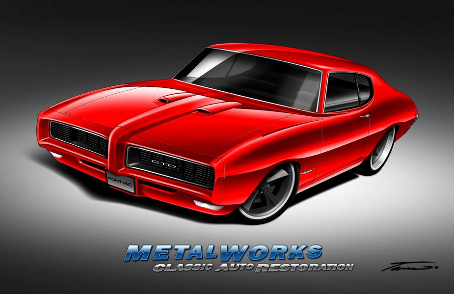 Pontiac Gto 2015 >> Metalworks 1968 Pontiac Gto Racingjunk News