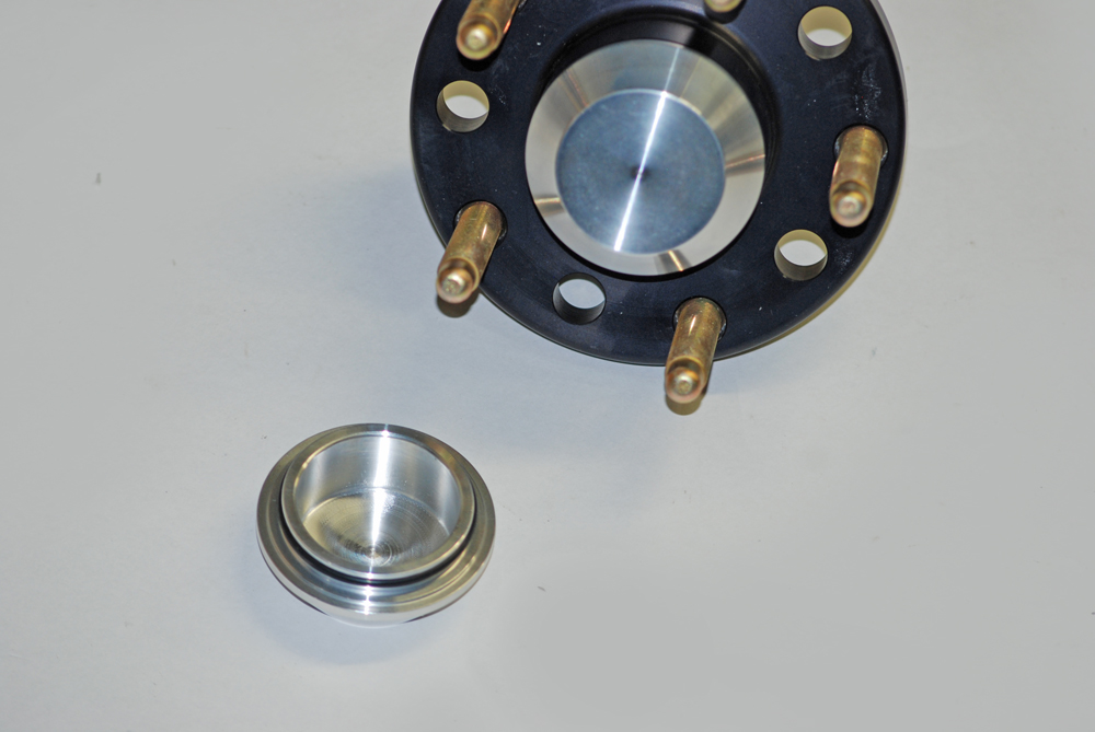 billet aluminum snap-in cap,Baer Brakes, Disc Brakes, Drag Racing Brakes,Upgrading brakes, street brakes conversion, drilled rotors, slotted rotors