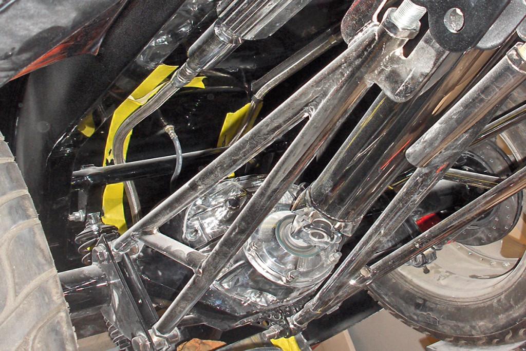 multi-link rear