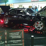 A 1969 Dodge Charger RT with Blown 572 Hemi