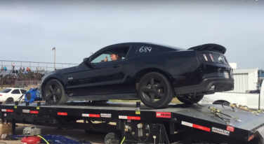 [Video] Mustang Blows Out Tire on Dyno at 150+mph
