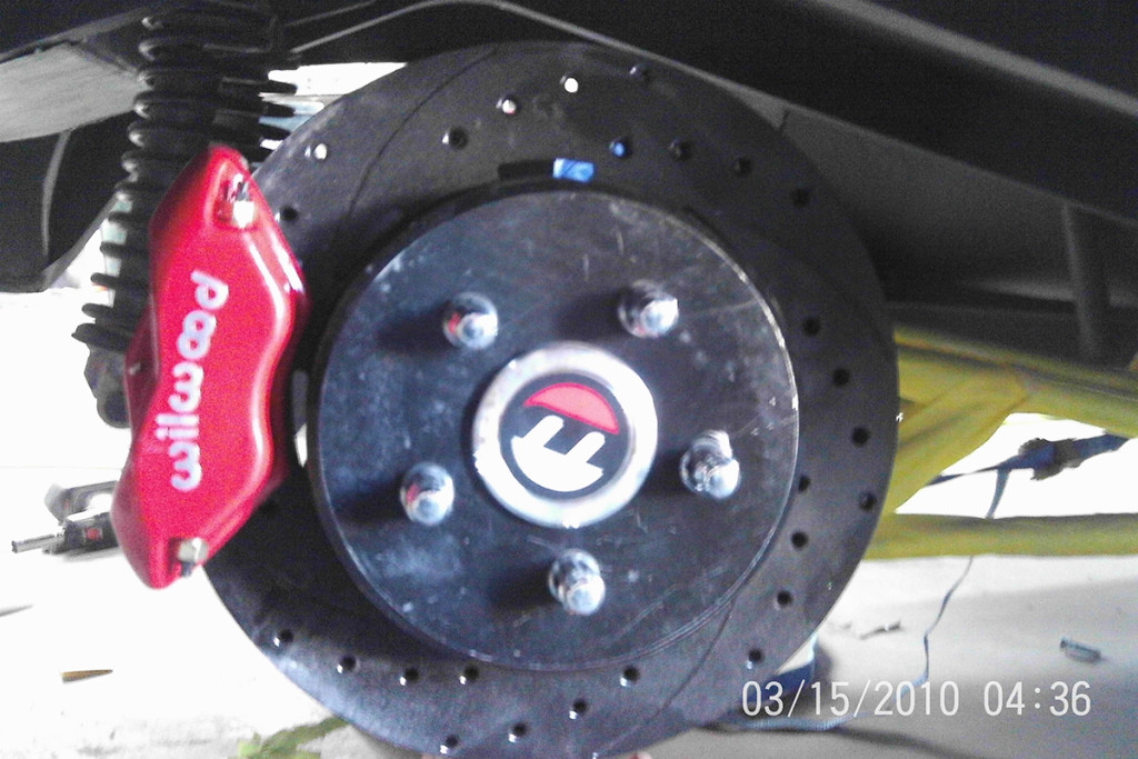 Wilwood rear brakes