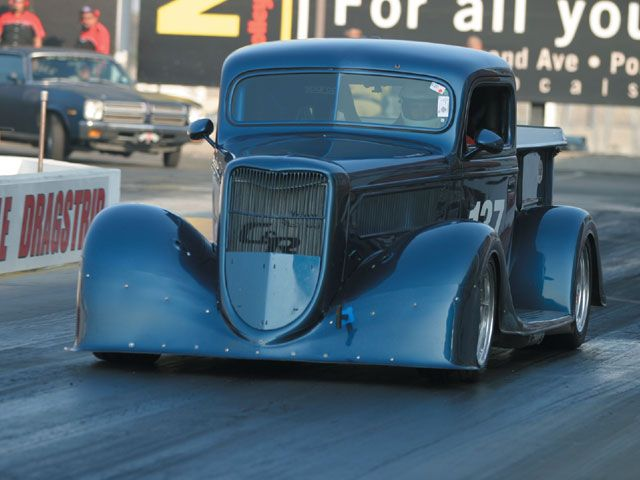 Hot Rod at Drag Week