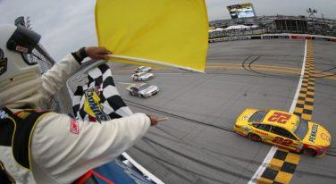 Logano Sweeps NASCAR Contender Round in Strange Talladega Conclusion