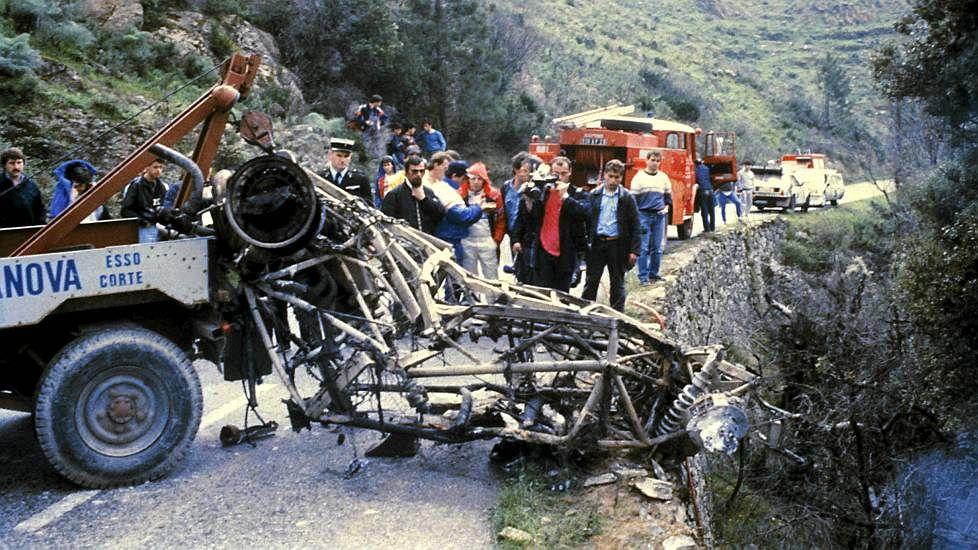 Toivonen Group B crash