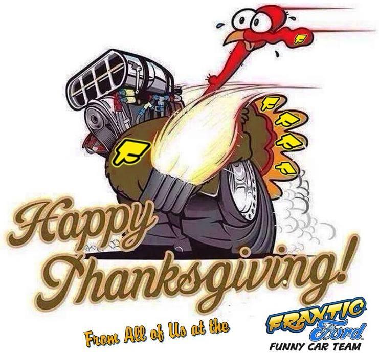 Frantic Ford Turkey Thanksgiving