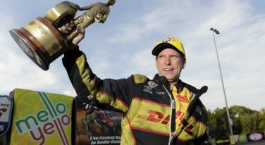 Worsham Battling Beckman for NHRA Funny Car Championship