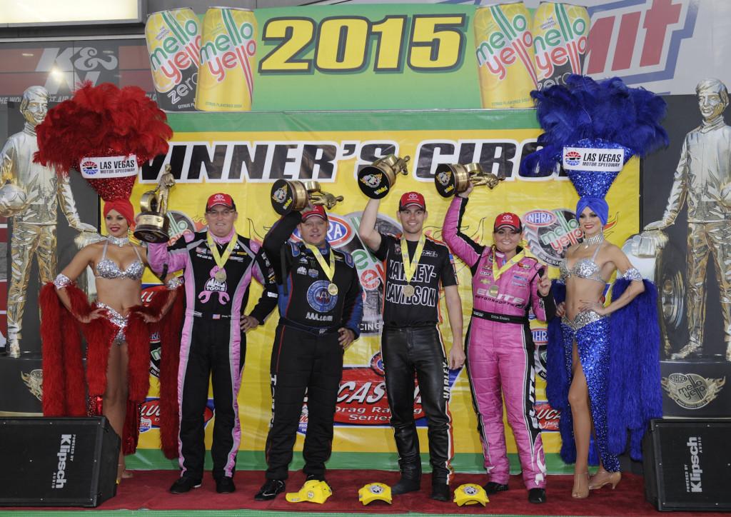 NHRA Las Vegas Winners Circle