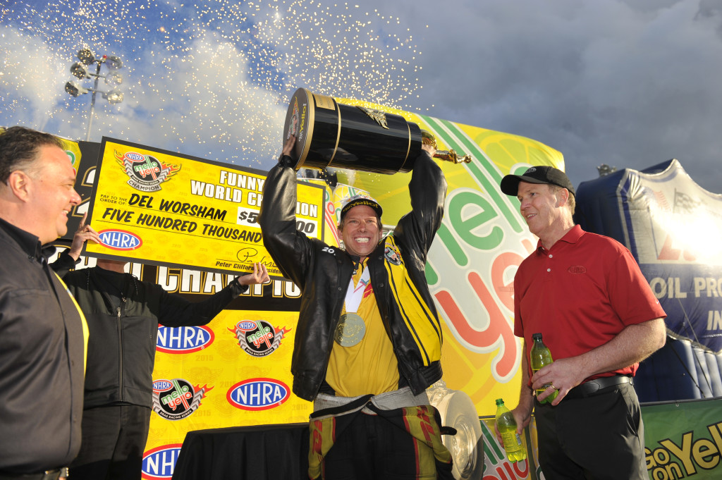NHRA Mello Yello Drag Racing Series Del Worsham