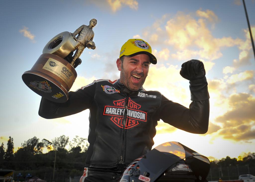 NHRA Mello Yello Drag Racing Series Eddie Krawiec