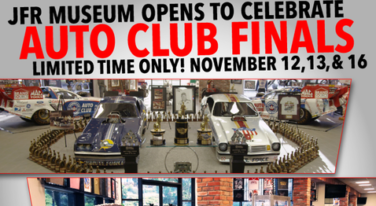 JFR Museum Open to Celebrate Auto Club Finals