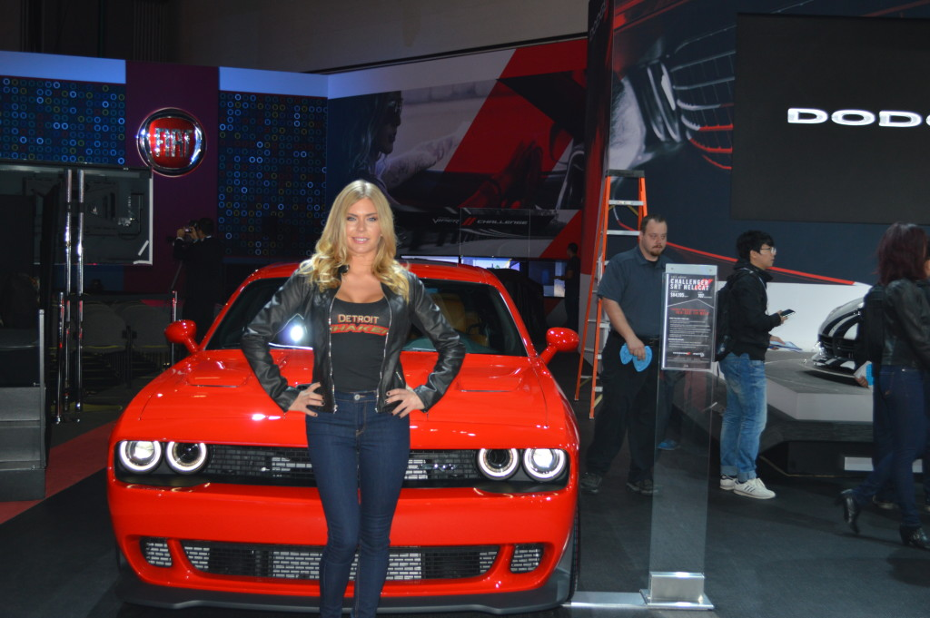 L.A Autoshow, MOPAR, Challenger, Hellcat