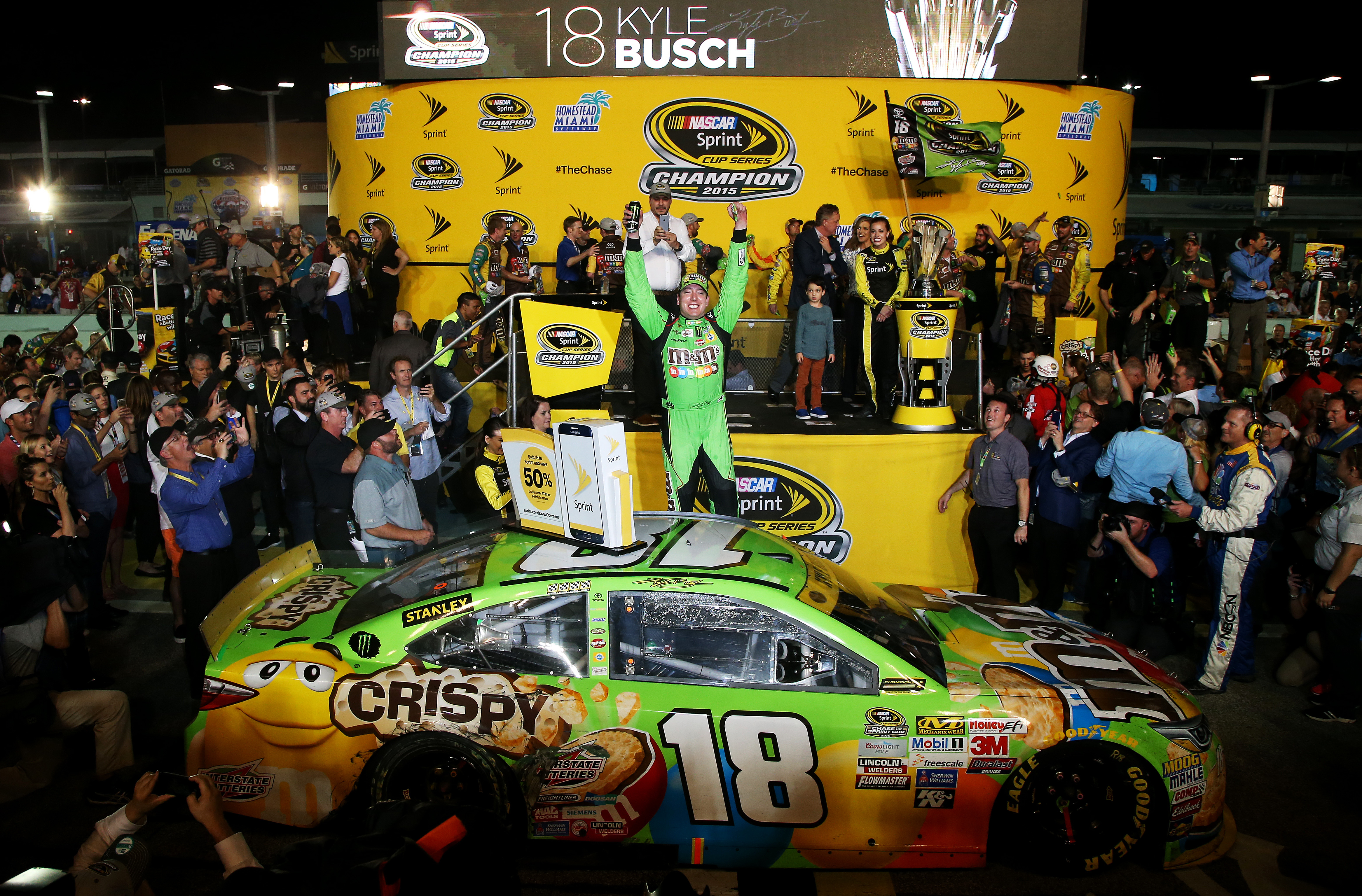 Kyle Busch Motorsports >> Kyle Busch Wins First Sprint Cup Championship at Homestead-Miami Speedway – RacingJunk News