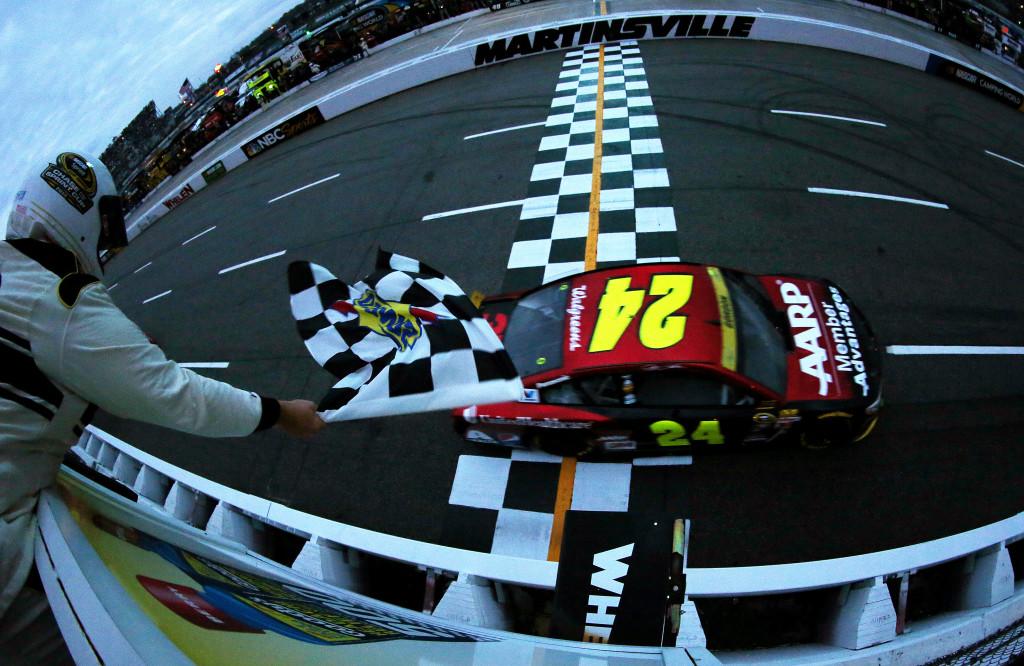 Jeff Gordon Martinsville NASCAR 2015