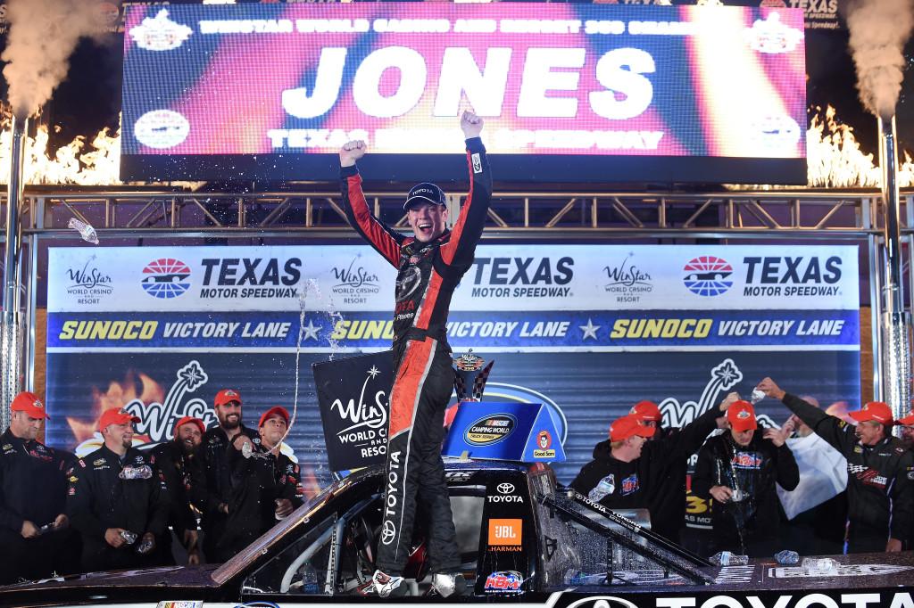 Erik Jones NASCAR Camping World Truck Series