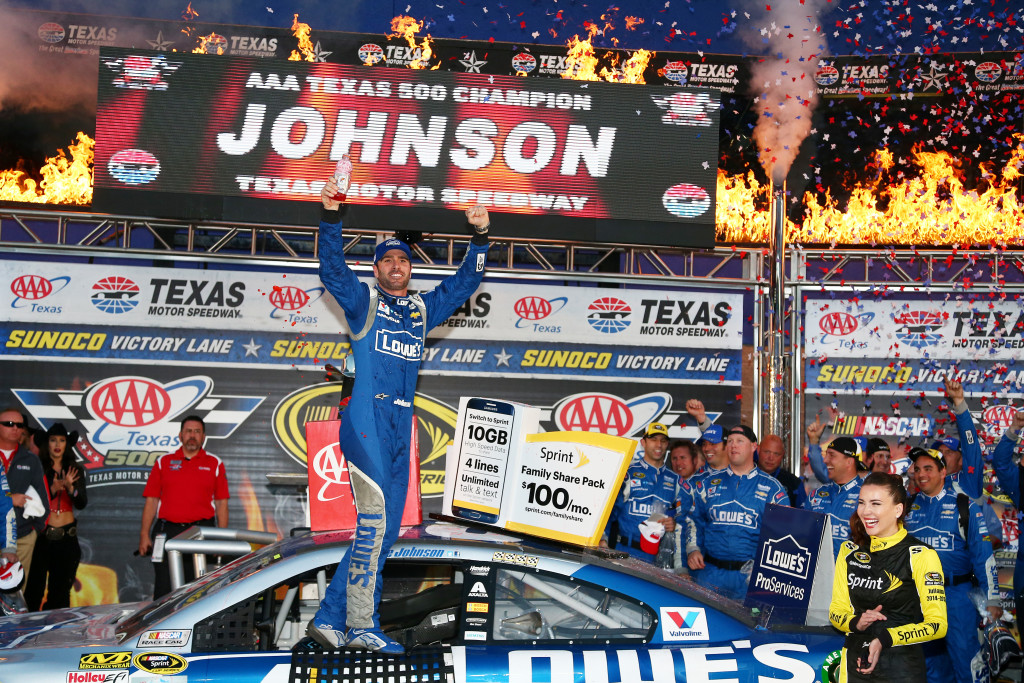 NASCAR Sprint Cup Series Jimmie Johnson