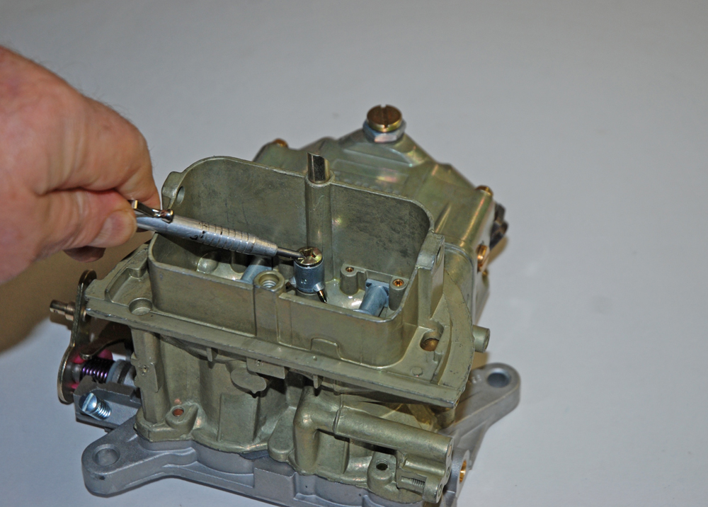 replaceable accelerator pump shooters