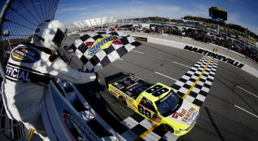 Late Race Cautions Cause Halloween Havoc and Headaches at Martinsville Speedway