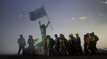 Kyle Busch Wins First Sprint Cup Championship at Homestead-Miami Speedway