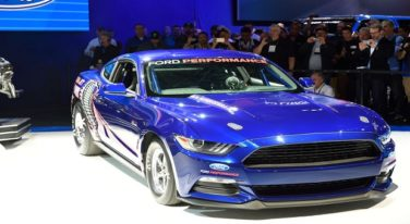 2016 Cobra Jet Mustang Drag Racer Unveiled at SEMA