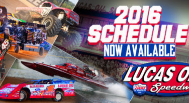 2016 Lucas Oil Speedway Event Schedule Released
