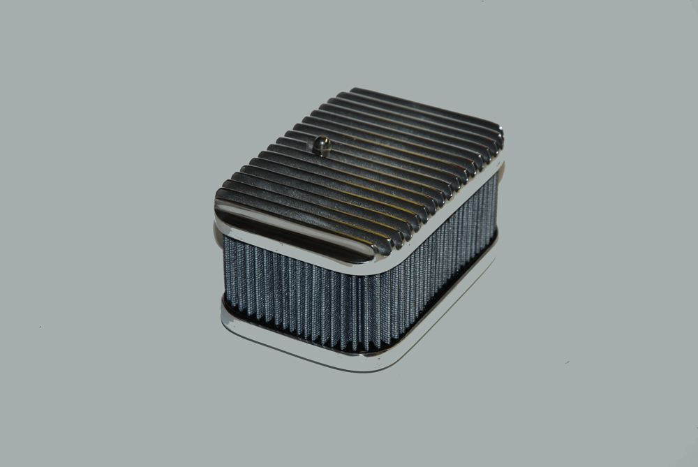 cast aluminum air cleaner assembly
