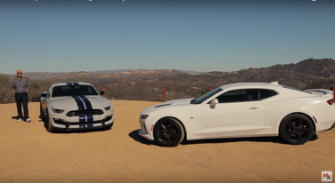 Shootout - Shelby GT350 VS Chevrolet Camaro SS