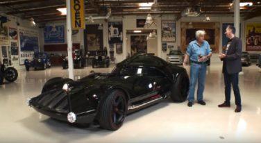 Life-Size Hot Wheels Darth Vader Car