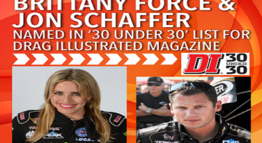 Brittany Force, Leah Pritchett, Vincent Nobile Part of DI's 30 Under 30