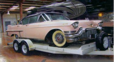 Elvis' '57 Pink Cadillac