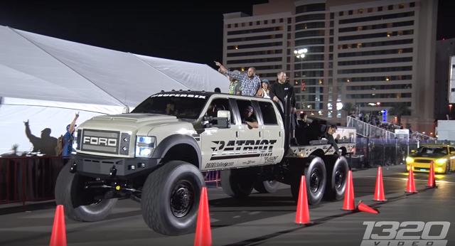 Diesel Brothers Mega Ram >> Video Evil 6x6x6 Diesel Truck Racingjunk News